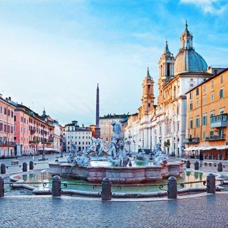 Visita Praças de Roma